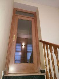 puerta interior vidriera con montante