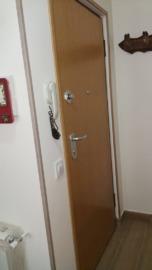 puerta entrada vivienda acorazada cara interior roble